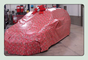 Step 4 - Wrap it for Christmas